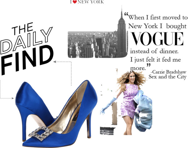 Sarah Jessica Parker Designs Shoes With Manolo Blahnik's Ceo